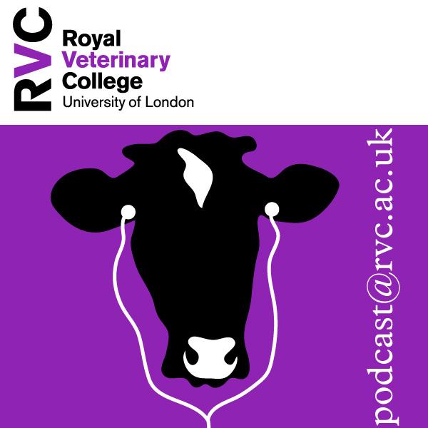 Animal scientist logo veterinary science on the