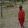 A Masai tribesman -